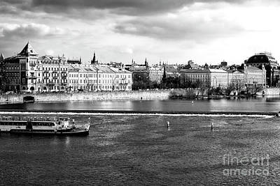 Poster featuring the photograph Classic Vltava River by John Rizzuto
