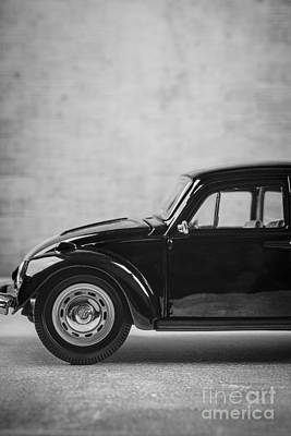 Classic Vw Beetle Car Poster by Edward Fielding