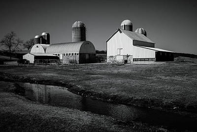 Poster featuring the photograph Classic Wisconsin Farm by Viviana  Nadowski