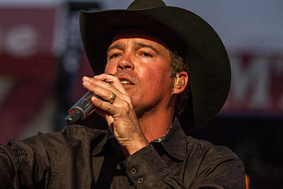 Clay Walker Poster by Mike Burgquist