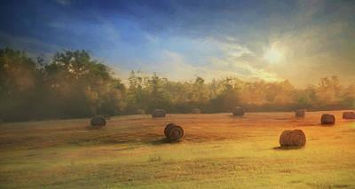 Clayton Morning Mist Poster by Lori Deiter