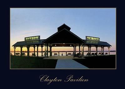 Clayton Pavilion Poster