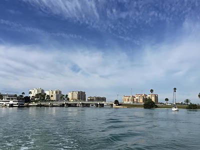 Clearwater Florida Poster by Aimee L Maher Photography and Art Visit ALMGallerydotcom