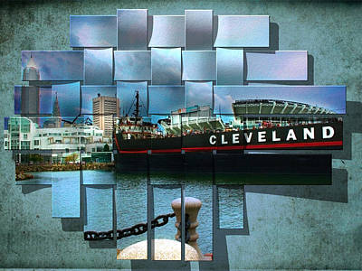 Cleveland A Different Look Poster by Kenneth Krolikowski