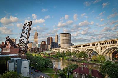Cleveland Skyline Vista Poster