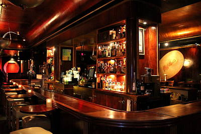 Cliff Bell's Jazz Club In Detroit Michigan Poster