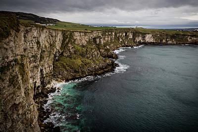 Cliffs Near Larrybane Poster