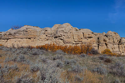 Poster featuring the photograph Cliffs Of Hoodoos by Fran Riley
