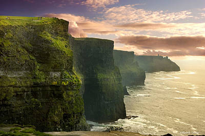 Cliffs Of Moher - 2 Poster by Robert Lacy