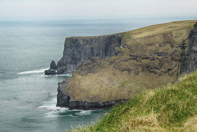 Poster featuring the photograph Cliffs Of Moher 1 by Marie Leslie