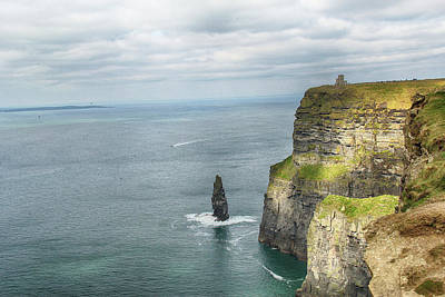 Poster featuring the photograph Cliffs Of Moher 3 by Marie Leslie