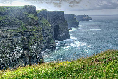 Poster featuring the photograph Cliffs Of Moher by Alan Toepfer