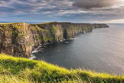 Cliffs Of Moher On The West Coast Of Ireland Poster