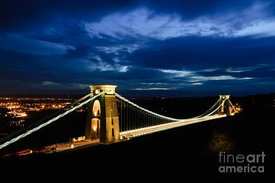 Clifton Suspension Bridge, Bristol. Poster
