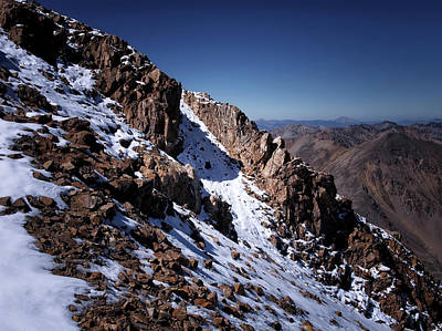 Poster featuring the photograph Climb That Mountain by Jim Hill