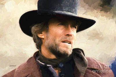 Clint Eastwood In Western Poster