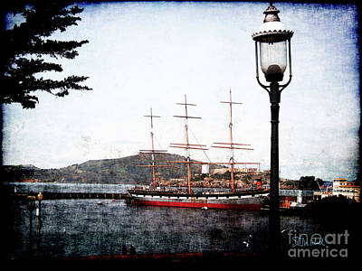 Clipper Ship Poster