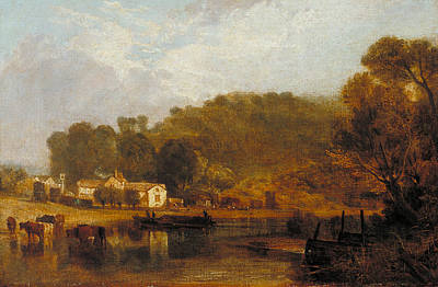 Cliveden On Thames Poster by Joseph Mallord William Turner