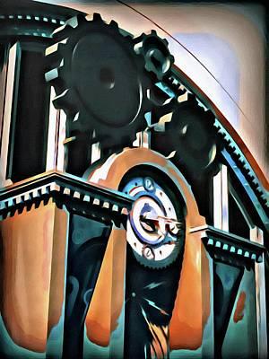Clock Gears Poster