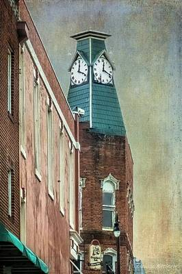 Clock Tower Downtown Statesville North Carolina Poster