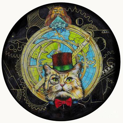 Clockwork Cat Poster