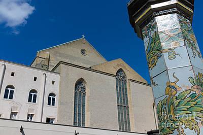 Cloister St. Chiara Poster