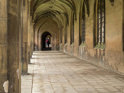 Cloisters At St Johns  Poster