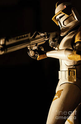 Poster featuring the photograph Clone Trooper 6  by Micah May
