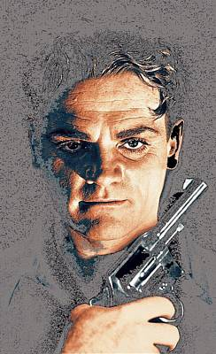 Close Up James Cagney As Gangster  Rocky Sullivan In Angels With Dirty Faces 1938-2008 Poster