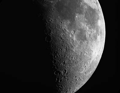 Close-up Of Moon Poster
