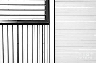 Closed Air Grating Poster by Jan Brons