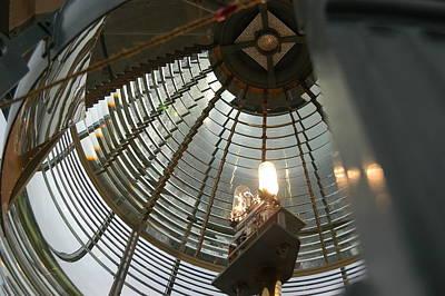 Closeup Of Lighthouse Poster