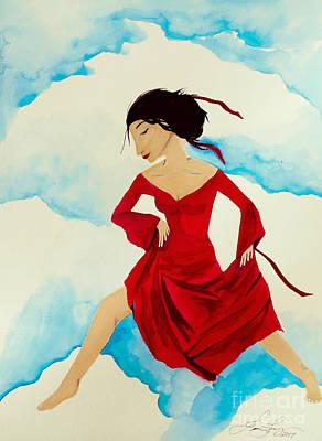 Cloud Dancing Of The Sky Warrior Poster