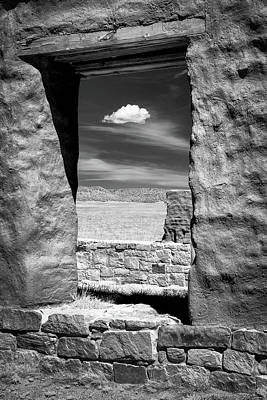 Poster featuring the photograph Cloud In The Window by James Barber