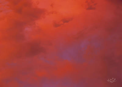 Cloud Patterns 4 Poster by Leland D Howard