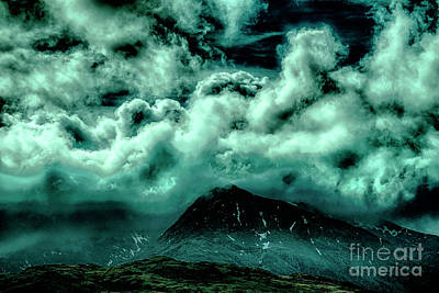 Cloud Strewn - Mysterious Skies Poster by Christopher Maxum