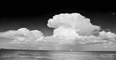 Clouds Over Hutchinson Island Poster