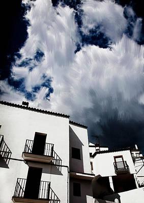 Clouds Over  Jubrique Poster by Piet Scholten
