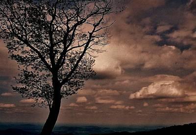 Clouds Over Shenandoah Poster