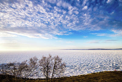 Poster featuring the photograph Clouds Over The Bay by Onyonet  Photo Studios