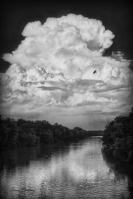 Clouds Over The Coosa River Poster