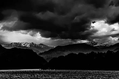 Clouds Over Ulswater Lake District Poster by David French