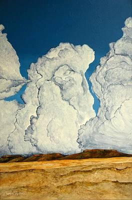 Cloudscape A Poster