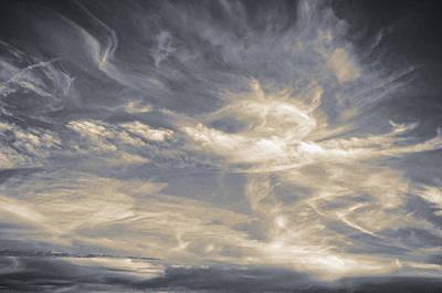 Cloudscape Thirteen Poster