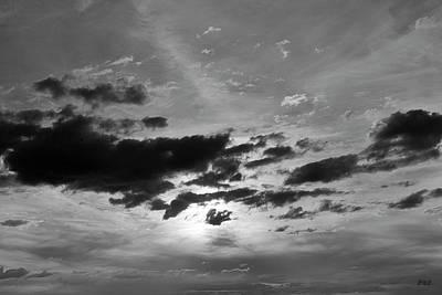 Cloudscape Xxi Bw Poster by David Gordon