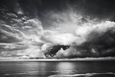 Clouds Opening Up Poster by Andrew Soundarajan