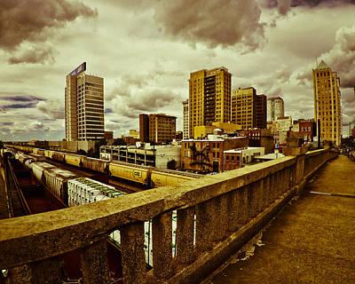 Cloudy Birmingham Poster