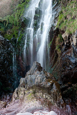 Clovelly Waterfall Poster