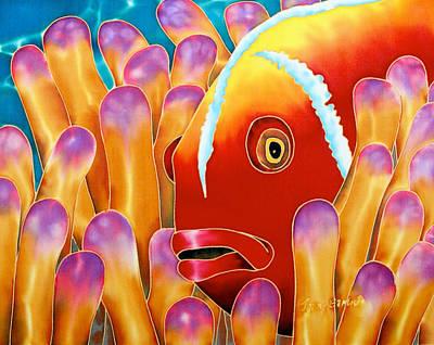 Clown Fish  Poster by Daniel Jean-Baptiste