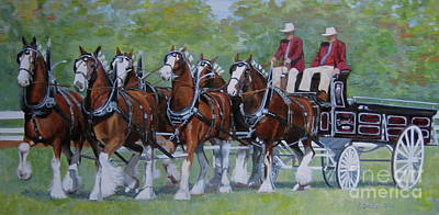 Clydesdale Hitch Poster